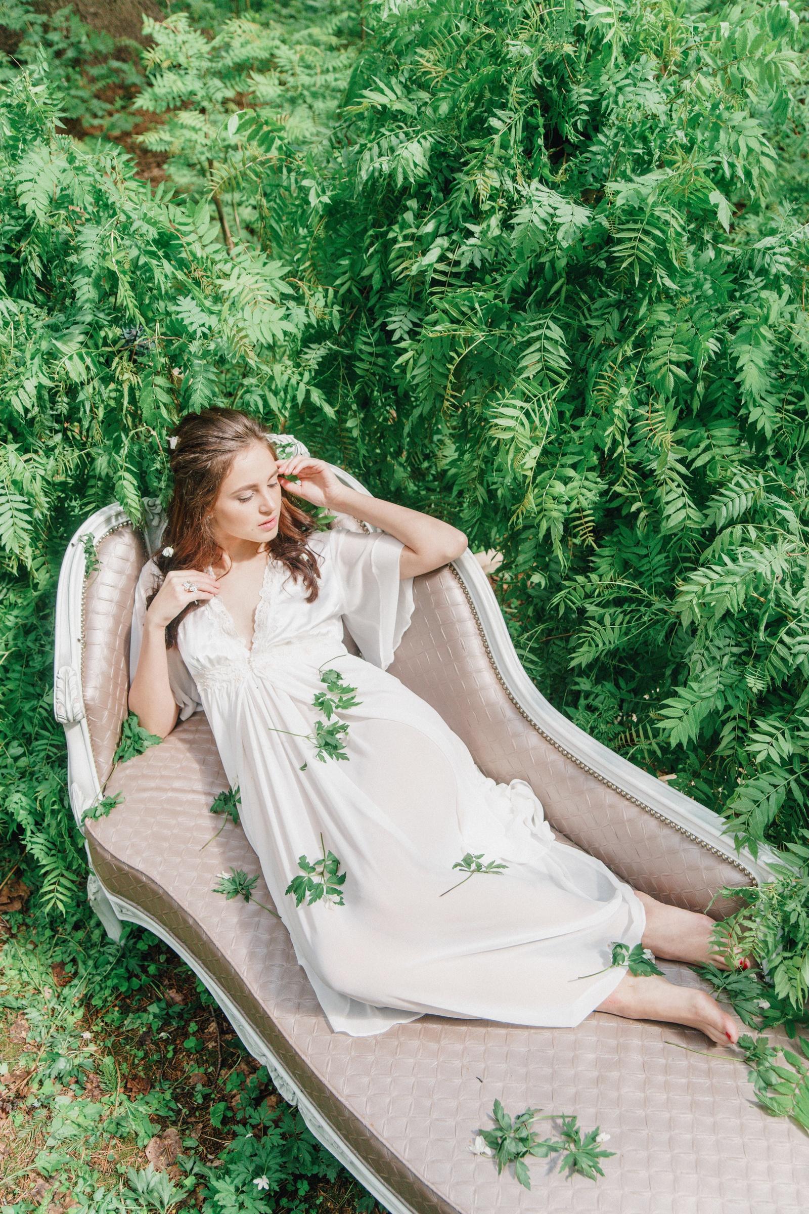 Спящая красавица: стилизованная фотосессия