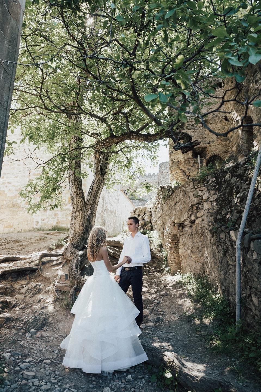 «Виноградный» праздник: свадьба в Грузии