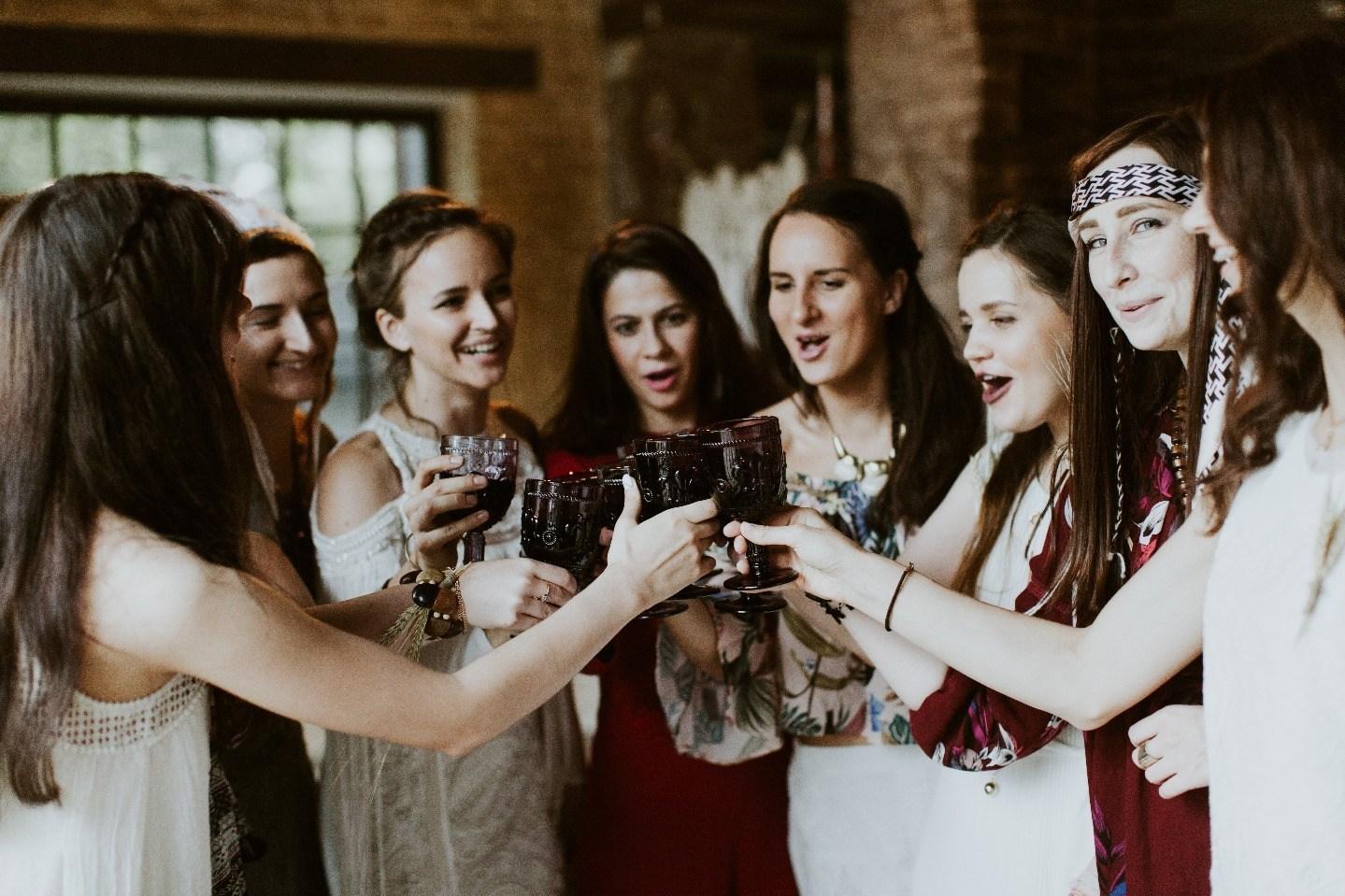 Вечеринка в стиле бохо: девичник Мирославы