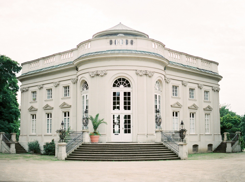 Европейская элегантность: свадьба в Германии