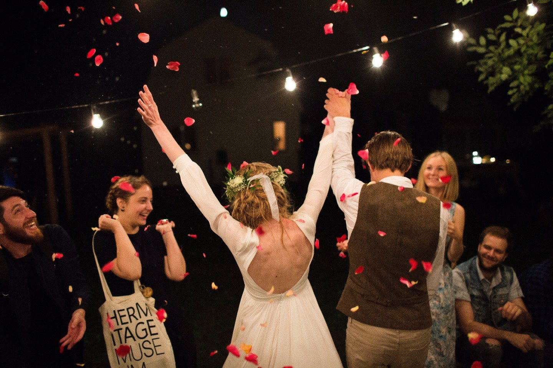 Два сердца как одно: свадьба в деревне