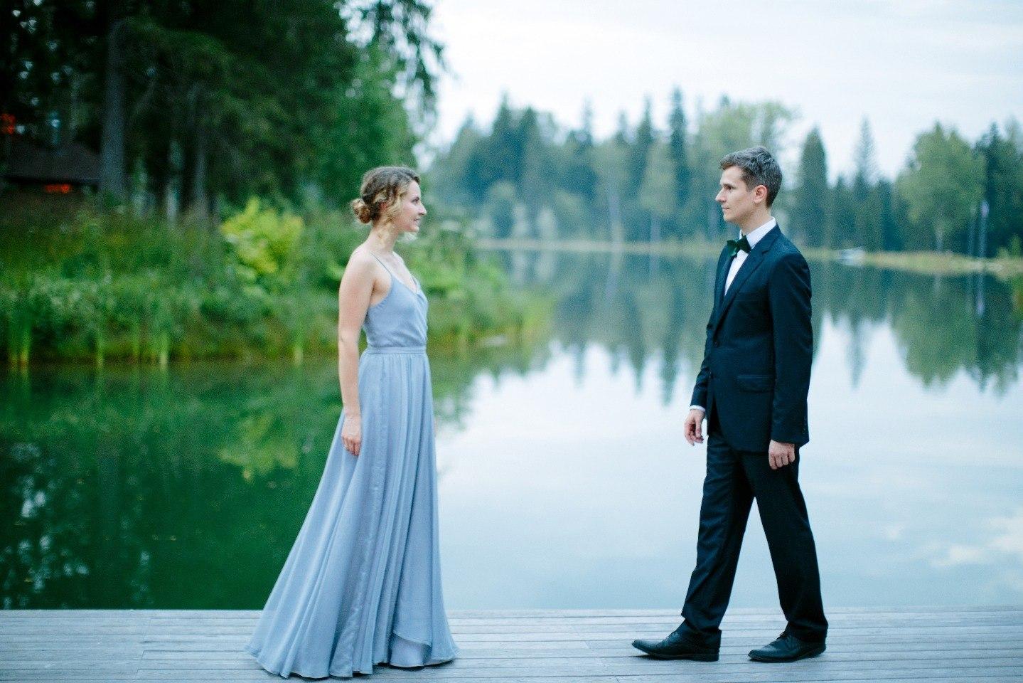 Свадьба у изумрудного озера