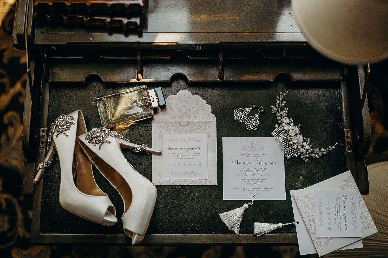 Неделимые: элегантная классическая свадьба