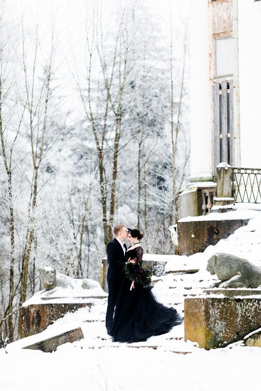 Зимняя love-story по мотивам фильма «Дом странных детей Мисс Перегрин»