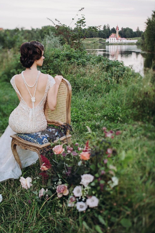 Английская история: стилизованная фотосессия в Гатчине
