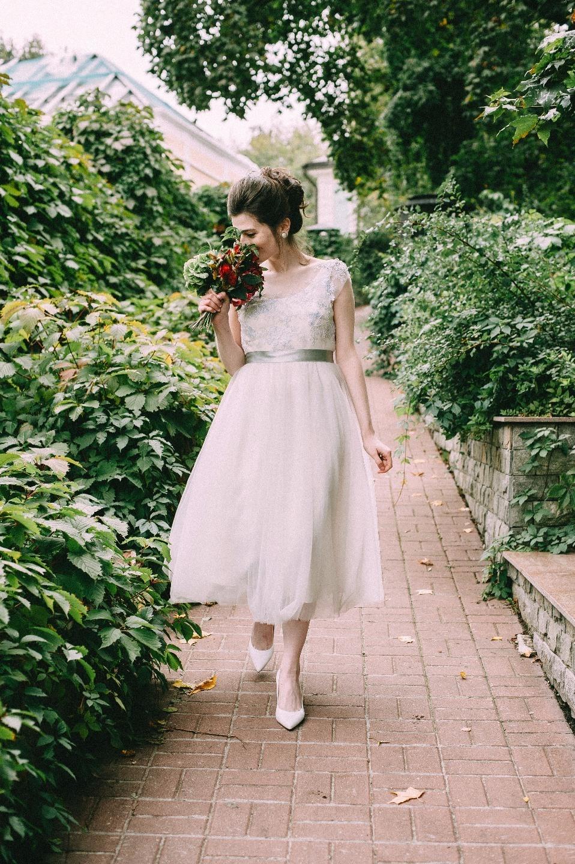 Теплая осень: свадьба в стиле «семейный уют»
