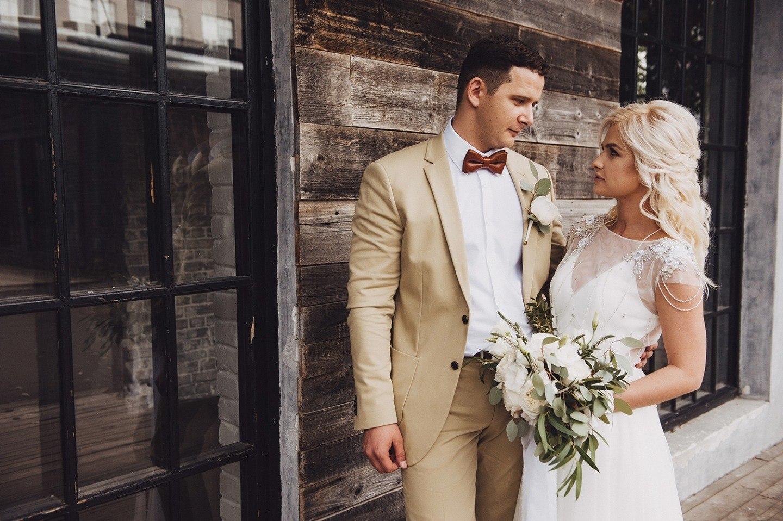 Урбан-шик: элегантная свадьба в лофте