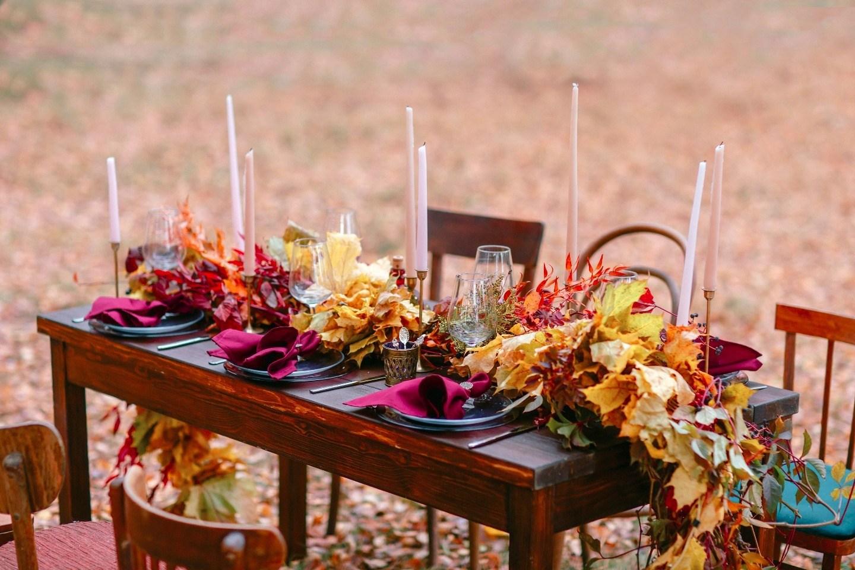 Обнимая осень: стилизованная фотосессия