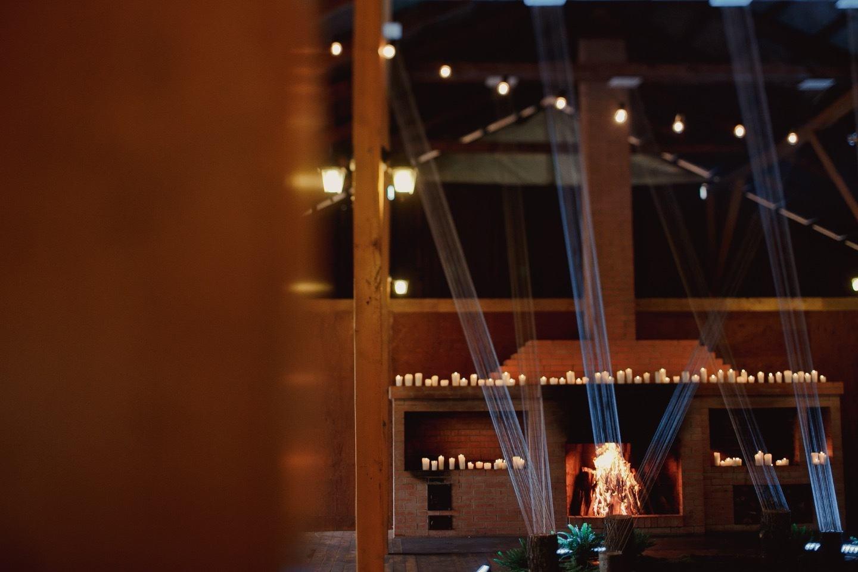 Теплые краски осени: уютная свадебная вечеринка