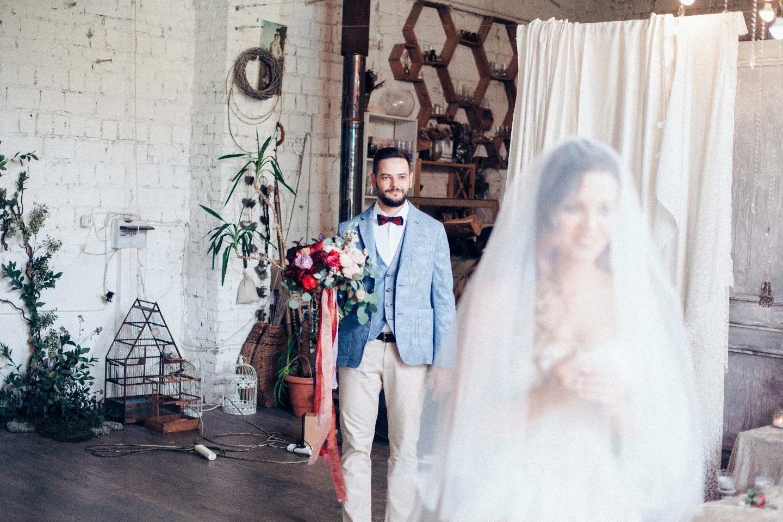Лето, солнце и любовь: свадьба в цвете марсала