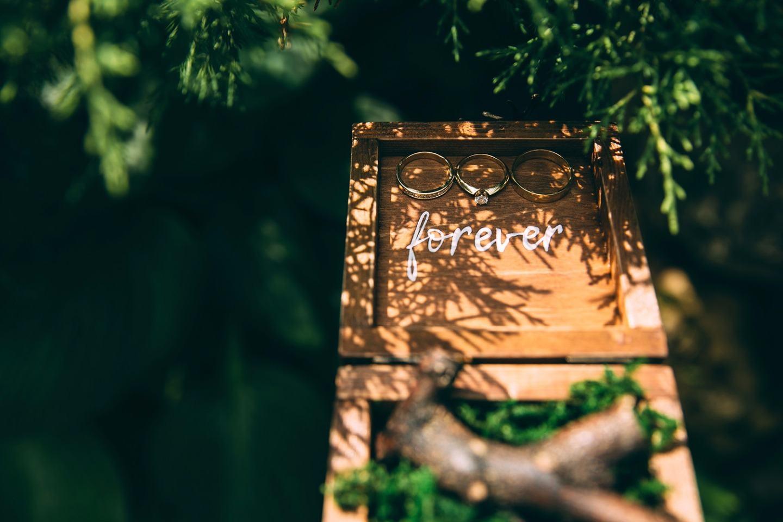 Рустикальный шик: свадьба в фиолетовом цвете