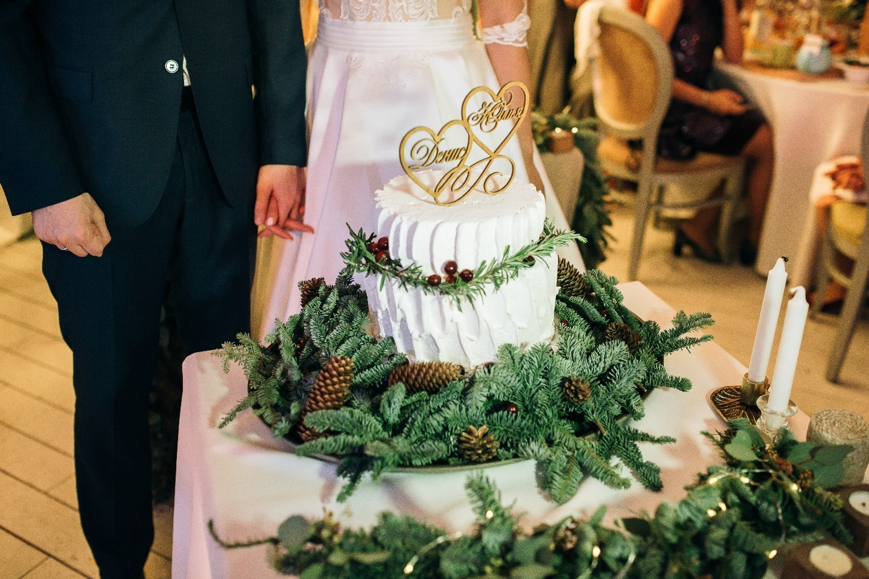 Уютная зима: свадьба с новогодним настроением