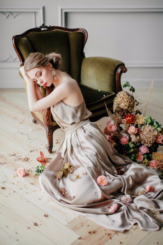 Девушка, приручившая осень: стилизованная фотосессия