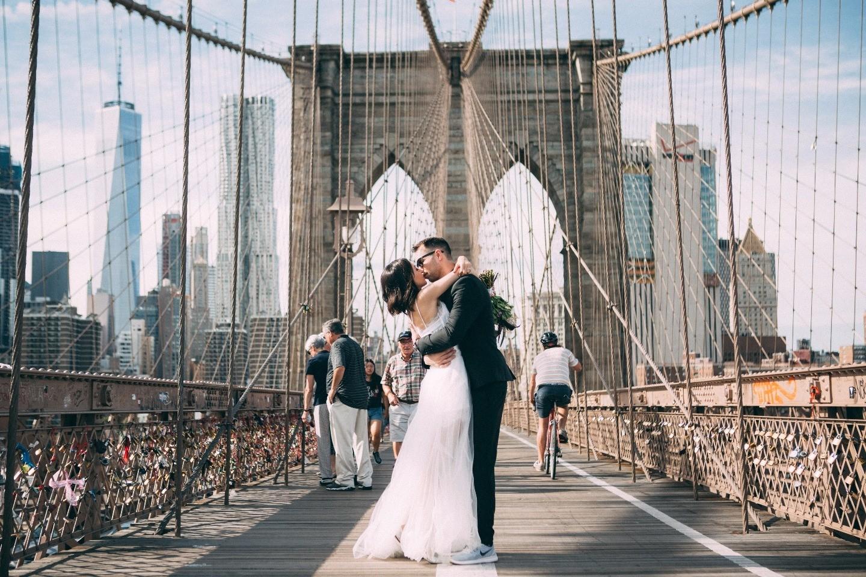 Нью-Йорк, Нью-Йорк: городская свадьба для двоих