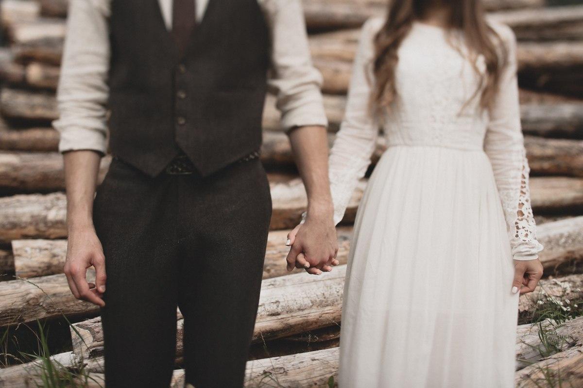Единение с природой: свадьба в Норвегии