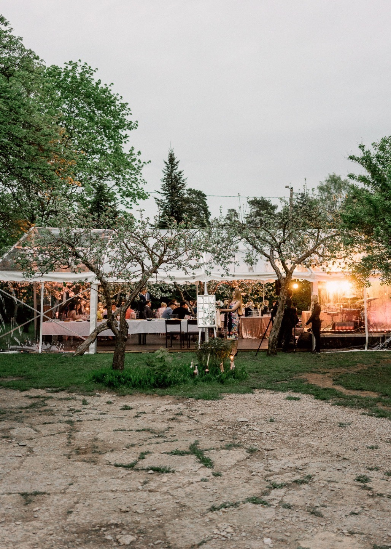 Нежный май: свадьба в яблоневом саду