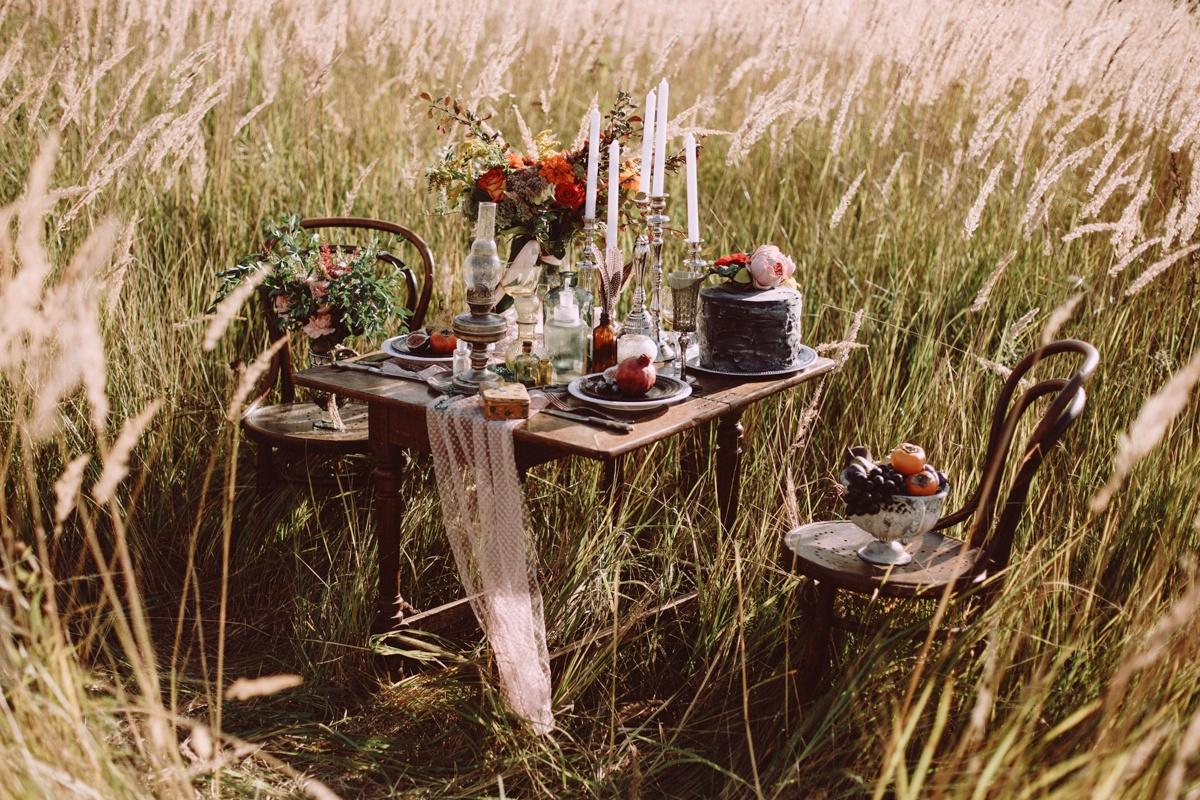Золотой закат: love-story в солнечных полях