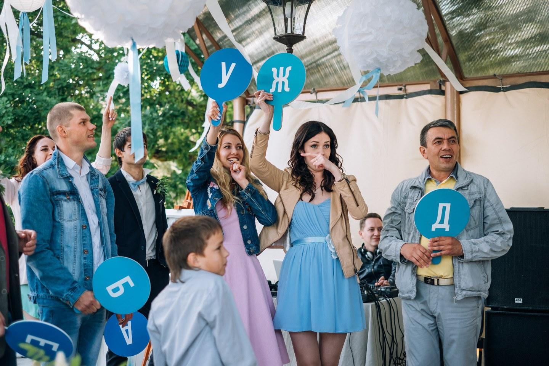 Летние краски: свадьба в морской стилистике