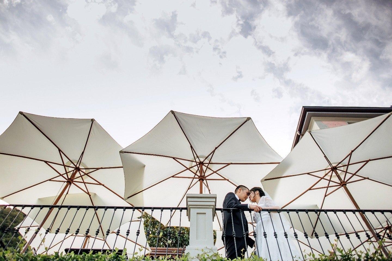 Комо на двоих: романтичная свадьба в Италии