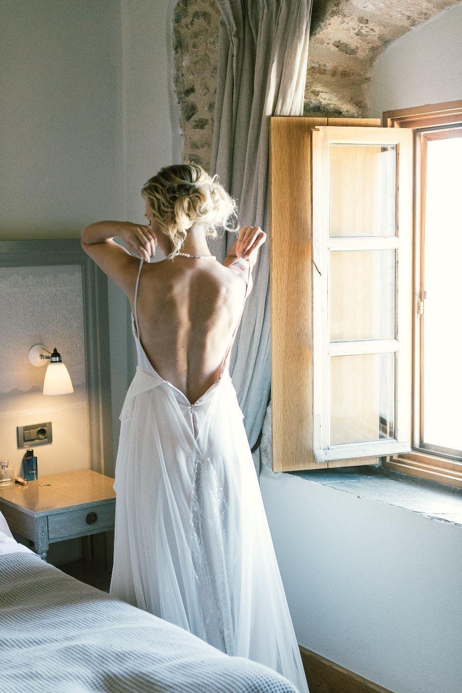Жаркое солнце Греции: «инжирная» свадьба