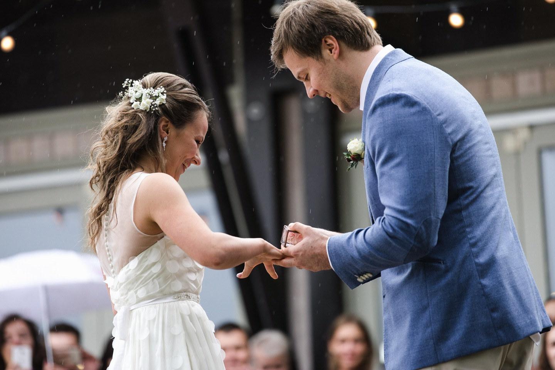 Кино о любви: свадьба в дождь