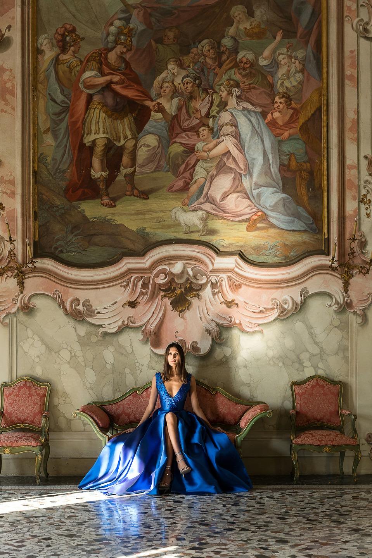 Blue Nowness: стилизованная фотосессия