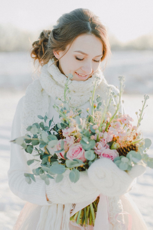 Frosty Rose: морозная love-story на природе