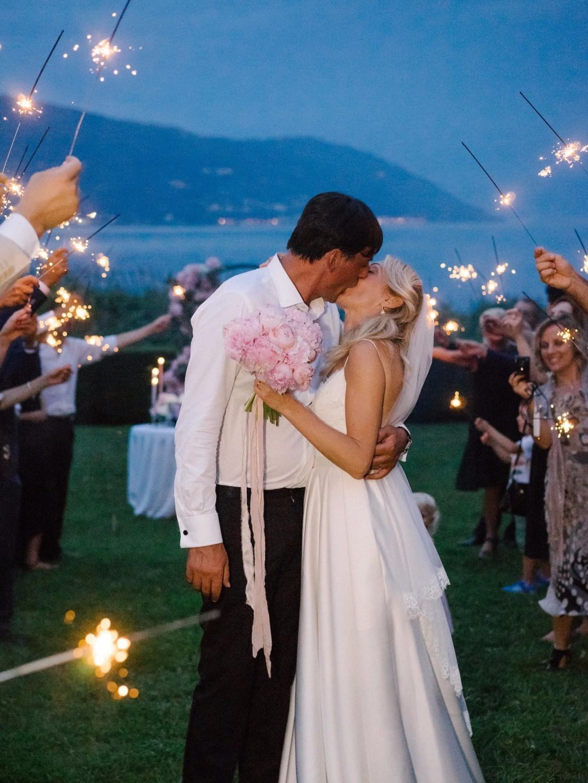 Романтика Италии: свадьба под открытым небом