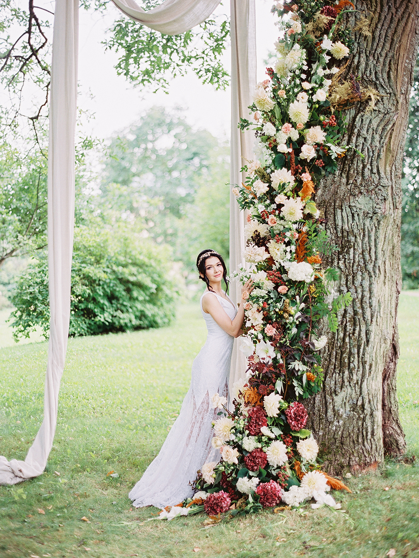 Гармония чувств: элегантная свадьба в замке