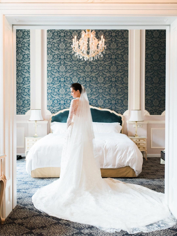Королевская весенняя свадьба в Дворце Лихтенштейнов