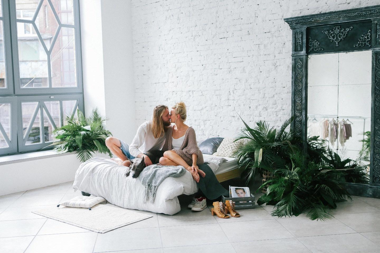 Красота в простоте: love-story в скандинавской стилистике