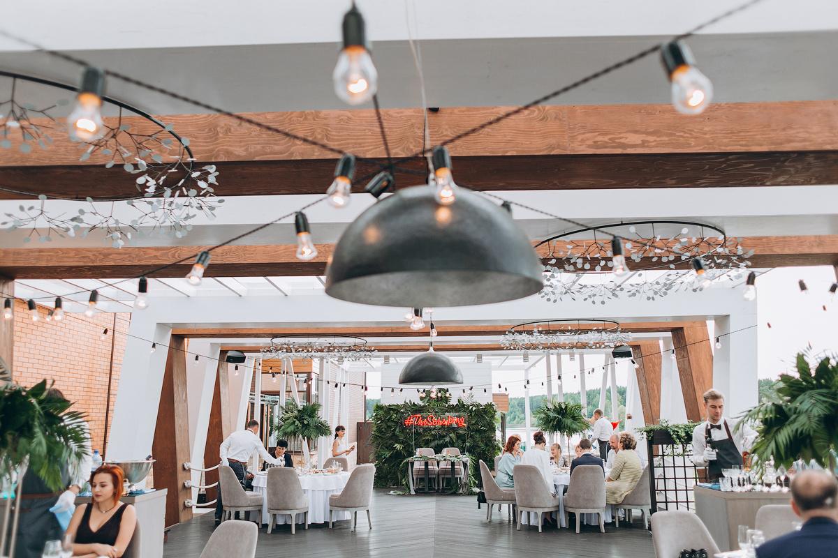 В разгар лета: свадьба с элементами эко и урбан