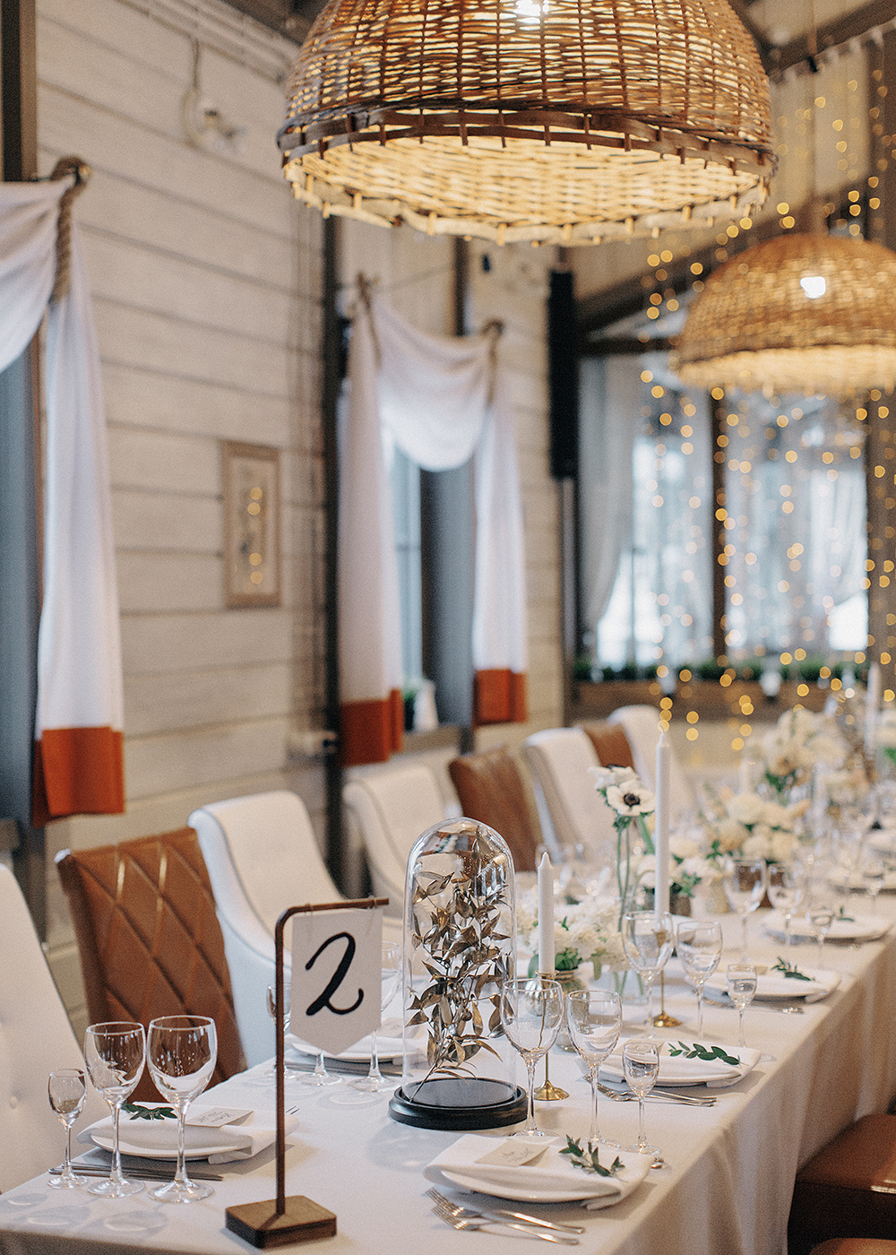 Очарование зимы: свадьба в стиле «уют»