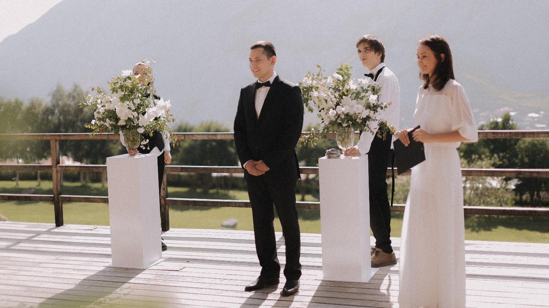 Любовь выше гор: свадьба в Казбеги