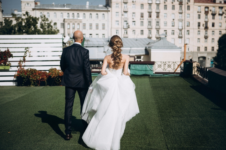 Линии пересечения: стильная черно-белая свадьба