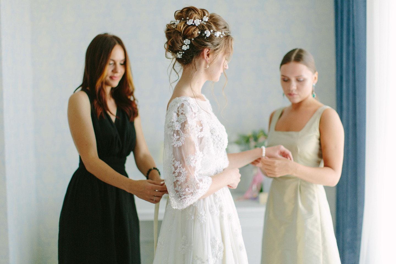 Цветущий сад: свадьба с весенним настроением