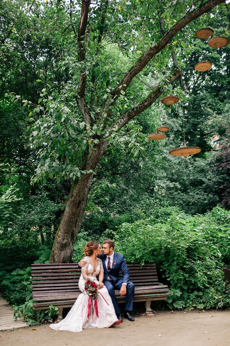 Summertime passion: свадьба в стиле «благородный шик»