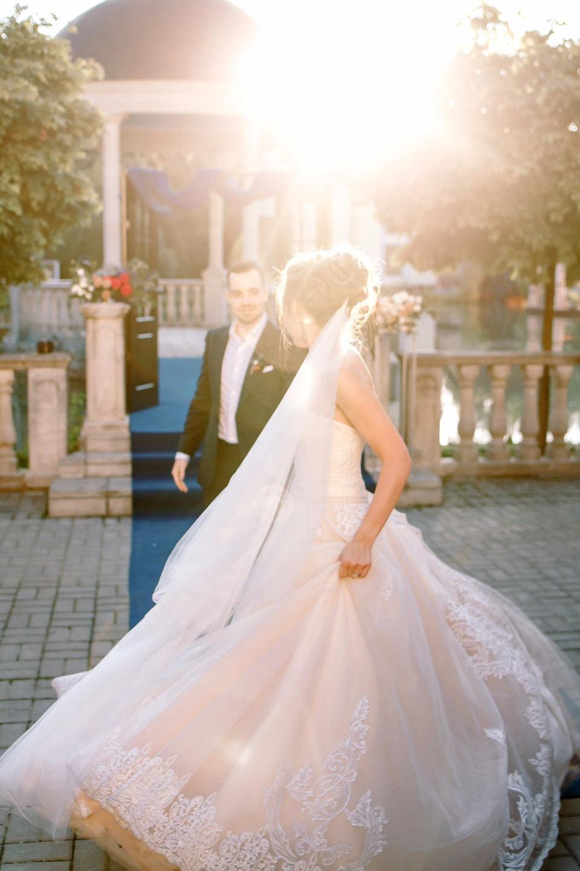 Маленькая Британия: загородная свадьба в «английской» стилистике