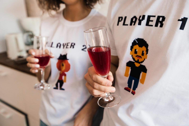 8 бит: свадьба в стиле «пиксель-арт»