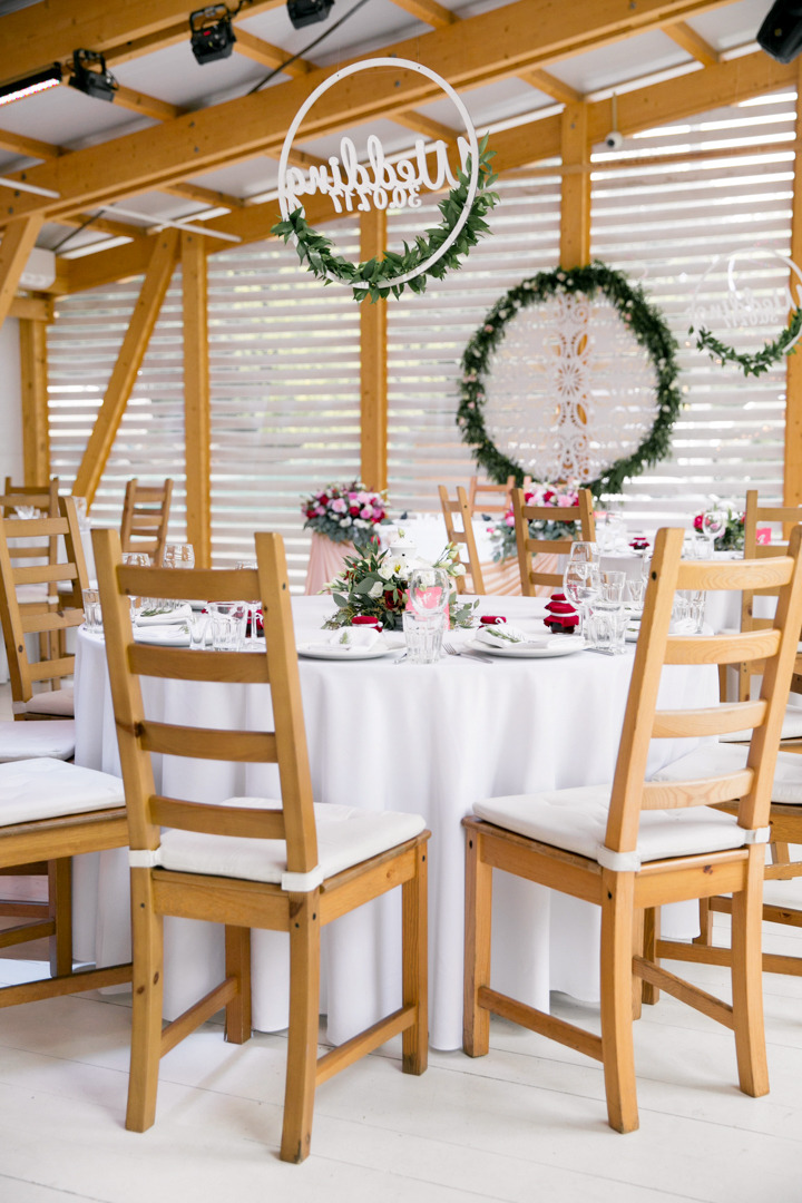 Легкость и простота: свадьба в яхт-клубе