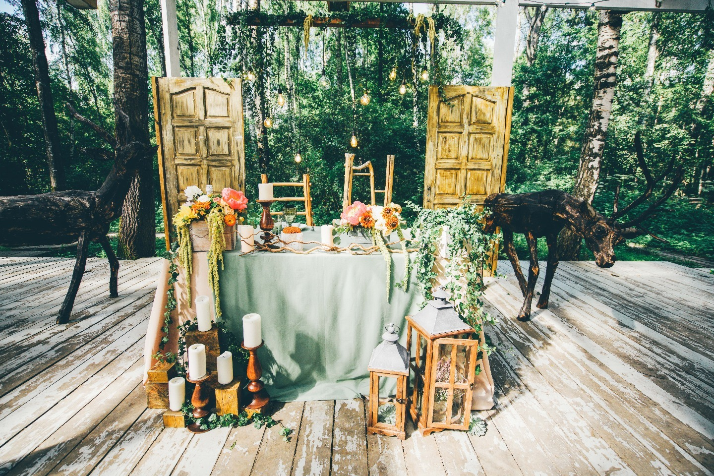 Сказки леса: свадьба в арт-парке Никола-Ленивец