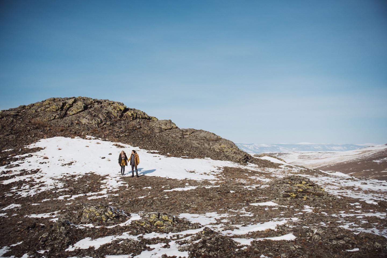 Там, где сердце: стилизованная love-story на Байкале
