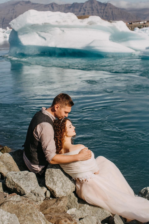 На краю света: свадьба в Исландии