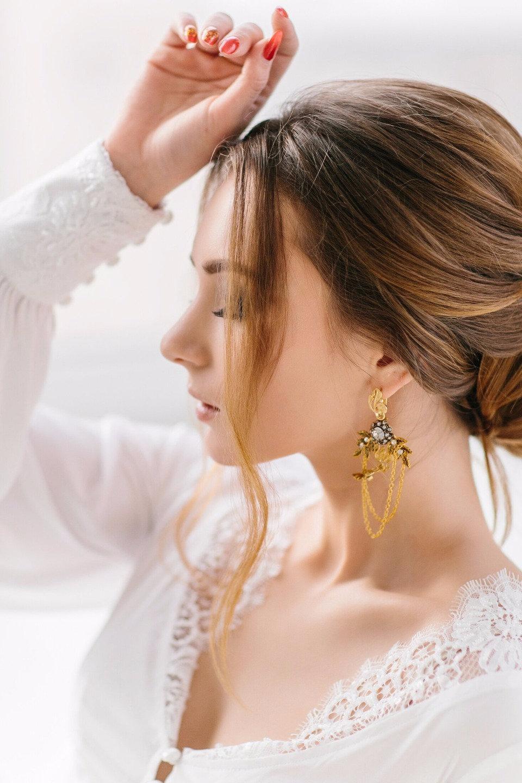 Gold is in the air: стилизованная фотосессия