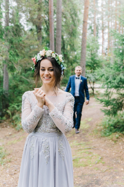 Cozy Boho Wedding: лесная свадьба