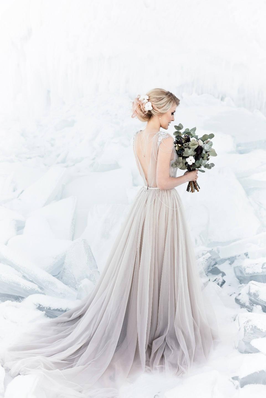 Wedding Baikal: стилизованная фотосессия