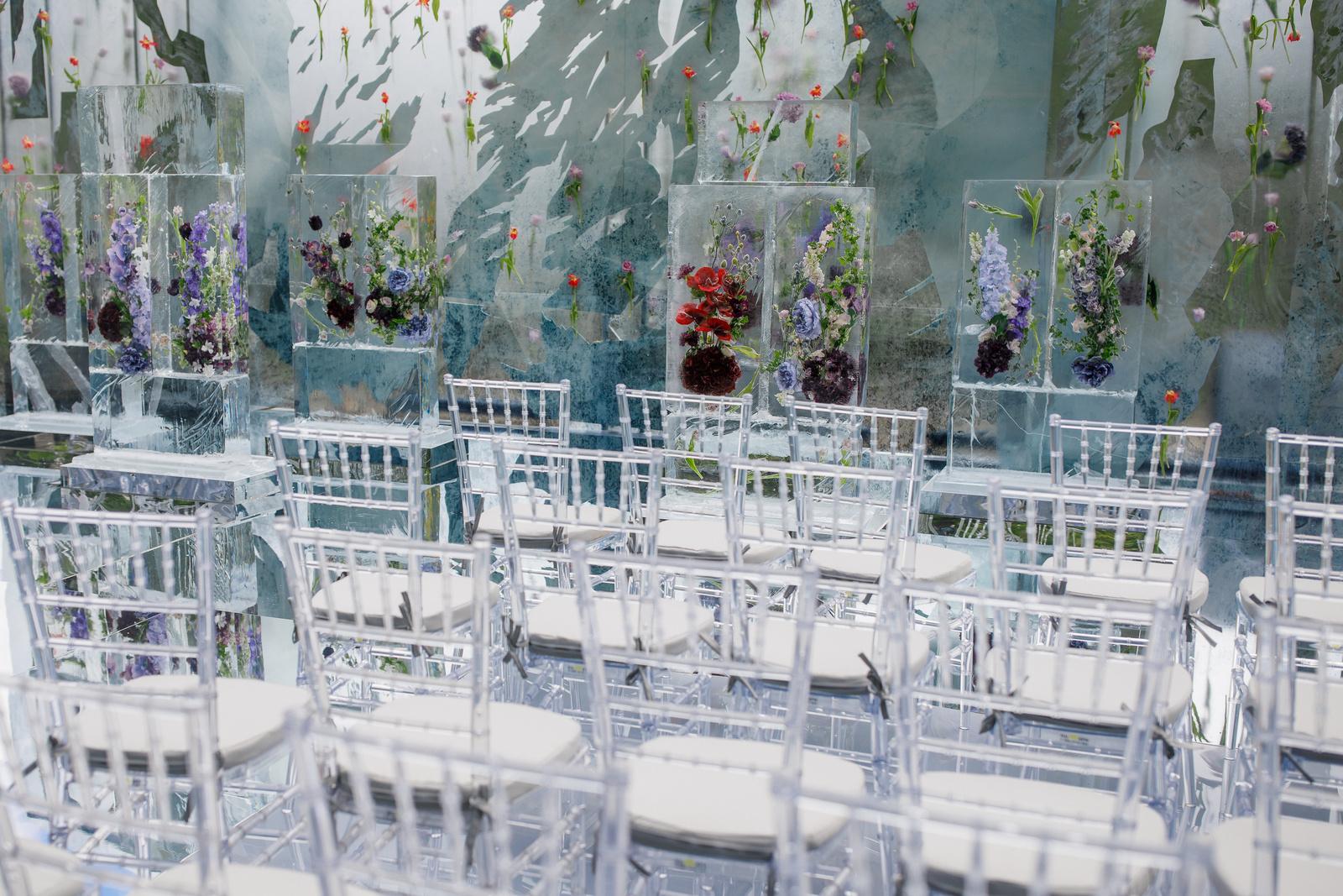 Лёд и пламя: свадьба в стиле ледяной сказки