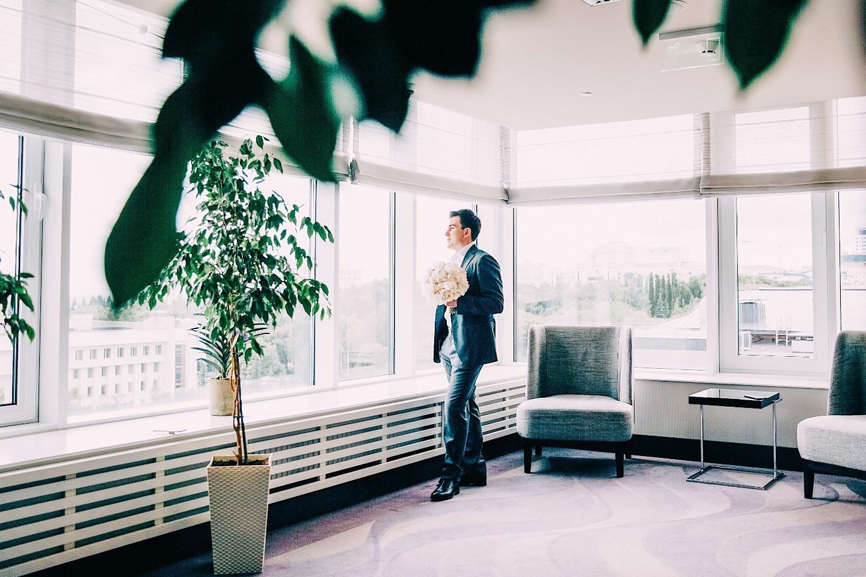 Кружевная салфетка: свадьба в отеле