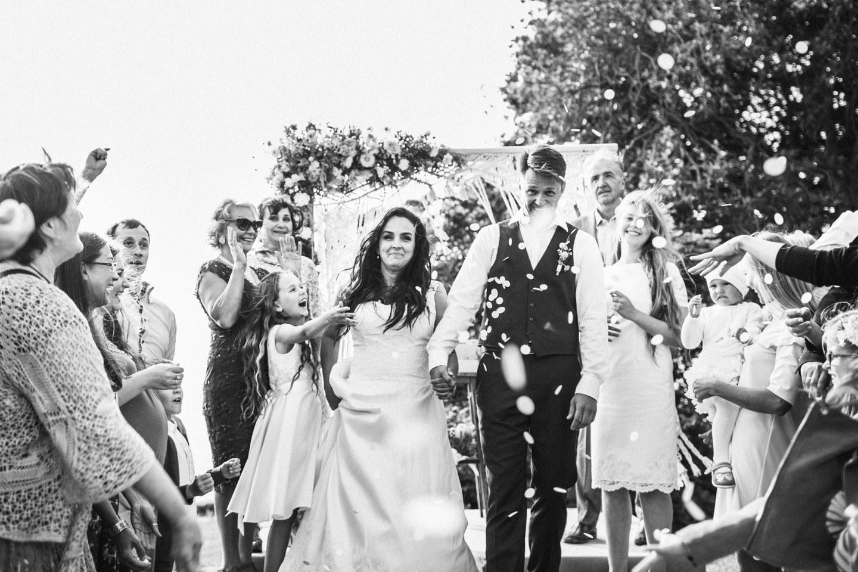 Солнечный рустик: свадьба на берегу моря