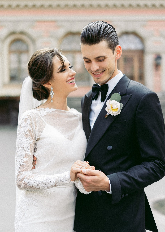 Петербургская элегантность: свадьба на Финском заливе